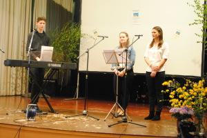 Alina Wess, Lisa und Jonas Fischer