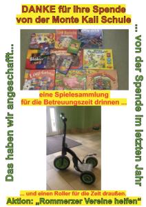 Spende_MonteKaliSchule_Rommerz